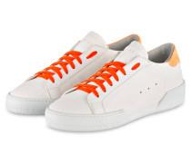 Sneaker JOHN - weiss/ orange