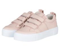 Plateau-Sneaker BIG - rosa