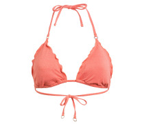 Triangel-Bikini-Top STARDUST mit Glitzergarn