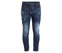 Jeans SKATER Skinny-Fit - 470 navy