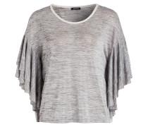 Strickshirt - grau meliert