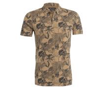 Piqué-Poloshirt Shaped-Fit - beige