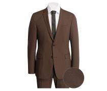 Anzug CALE-MADDEN Extra Slim-Fit - braun
