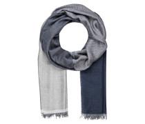 Schal - grau/ blau