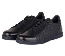 Sneaker LA PELLE TESSUTA - schwarz