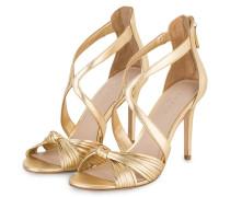 Sandaletten - gold metallic
