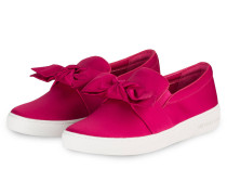 Satin-Sneaker WILLA - ultra pink
