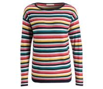 Pullover - weiss/ rosa/ grün gestreift