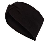 Cashmere-Stirnband - schwarz