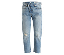 Cropped-Jeans WICKED - kkr kitkatroom blue