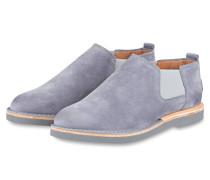 Chelsea-Boots - hellblau