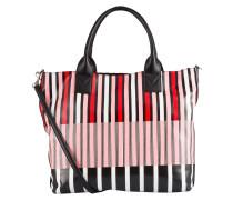 Shopper BARBO - schwarz/ weiss/ rot