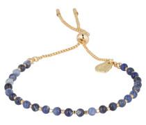 Armband AMELIA - blau/ gold