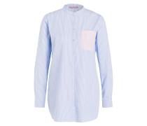 Bluse OLGA - blau/ weiss gestreift