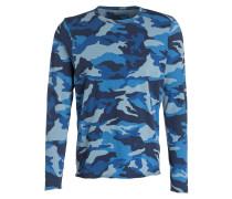 Langarmshirt - blau/ navy