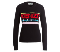 Pullover KENZO - schwarz/ pink/ blau