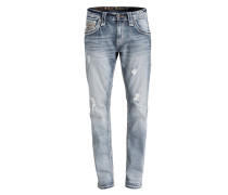 Destroyed-Jeans SAUL Straight-Fit