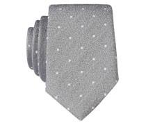 Krawatte - grau meliert