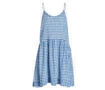 Kleid CRIPITOWN - blau/ weiss kariert