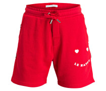 Shorts LE HAPPY - rot