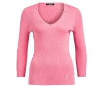 Pullover mit 3/4-Arm - rosa