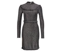 Kleid - silber metallic