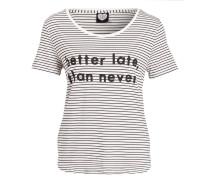 T-Shirt - offwhite/ rosa