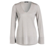 Pullover - taupe melaniert