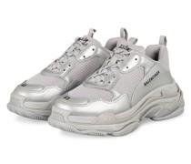 Sneaker TRIPLE S - SILBER/ HELLGRAU