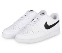 Sneaker COURT VICION LOW - WEISS/ SCHWARZ