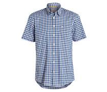 Halbarm-Hemd JACK Regular-Fit - blau
