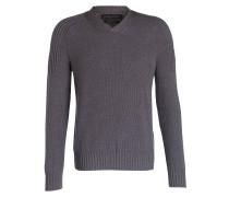 Merino-Pullover VALEMONT - grau