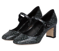 Mary Jane- Pumps - schwarz