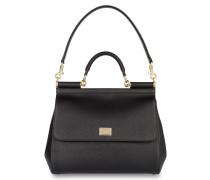 Handtasche MISS SICILY REGULAR - schwarz