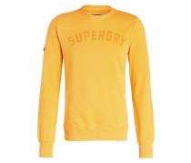 Sweatshirt - senfgelb