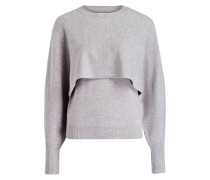 Cashmere-Pullover - cosy grey