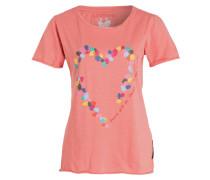 T-Shirt CORINNA - koralle