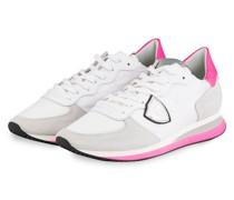 Sneaker TROPEZ - WEISS/ CREME/ NEONPINK