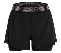 2-in-1-Shorts PRO FLEX mit Mesh-Einsätzen