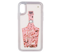 iPhone-Hülle LOVE GLITTER - pink