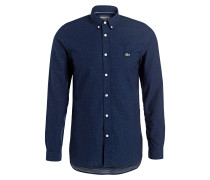 Hemd Slim-Fit - navy