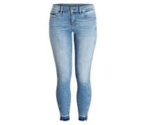 Skinny-Jeans MID RISE - unusual blue