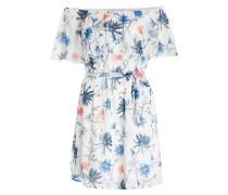 Kleid AURA - weiss/ blau
