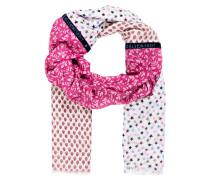 Schal MADELEINE - rosa/ pink/ flieder