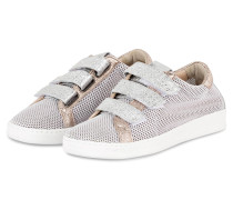 Sneaker - silber/ rosé metallic