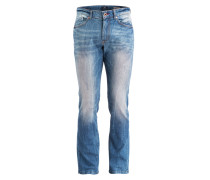 Jeans Straight-Fit - blue dirty