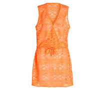 Strandkleid CROSS OVER - neonorange