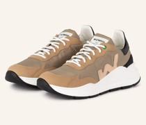 Sneaker WAVE - COGNAC/ BEIGE