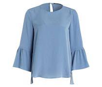 Bluse mit 3/4-Arm - hellblau