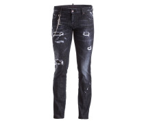Destroyed-Jeans CLEMENT Slim-Fit